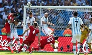 ایران آرژانتین فوتبال