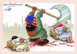 گروهک تروریستی داعش ، مولود آمریکا در عراق