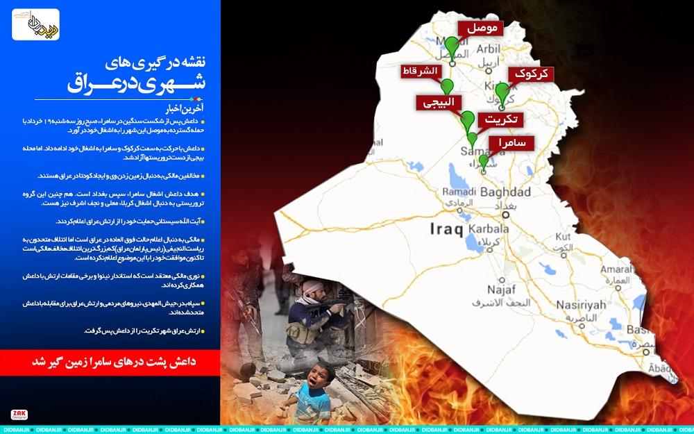 درگیریهای داعش در عراق