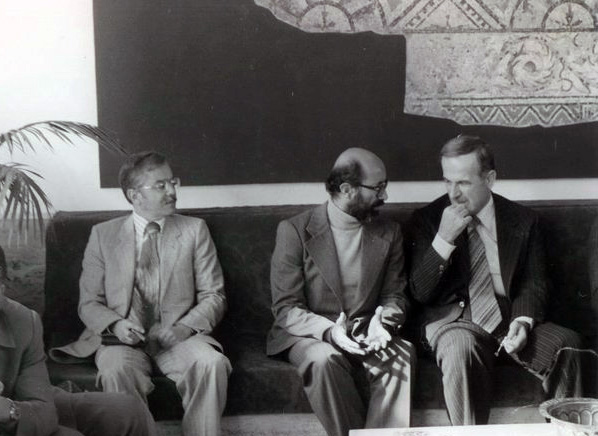 شهید دکتر مصطفی چمران حافظ اسد سوریه