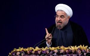 عصبانیت و وفحاشی حسن روحانی