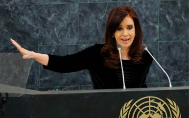 Cristina Fernández de Kirchner united nation