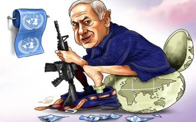 نتانیاهو اسرائیل صهیونیسم کاریکاتور