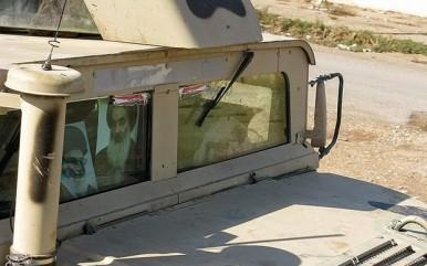 ماشین نظامی عراقی