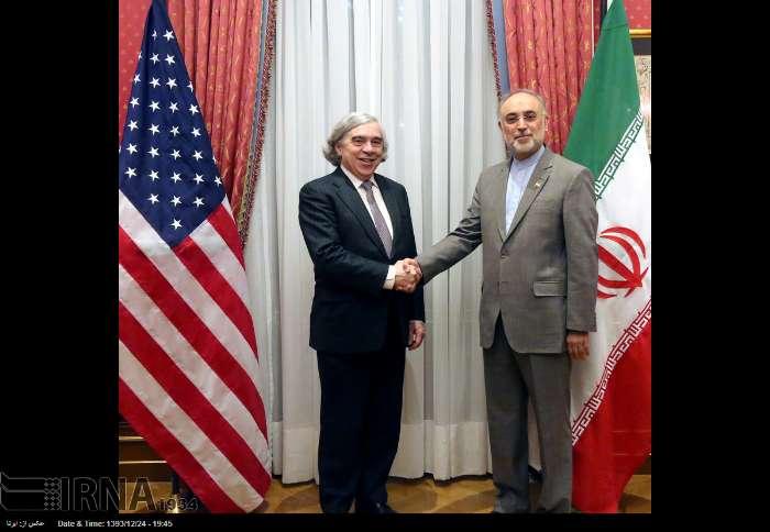 علی اکبر صالحی و وزیر انرژی آمریکا