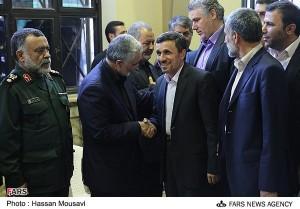 احمدی نژاد قاسم سلیمانی
