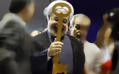حسن روحانی کلید